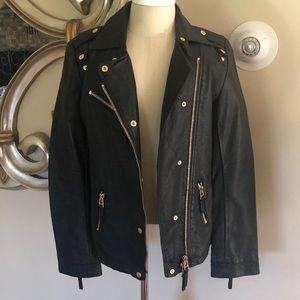 Black & Stylish Leather Jacket